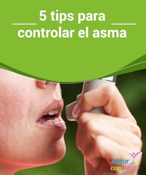 TIPS PARA CONTROLAR EL ASMA