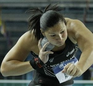 Valerie Adams New Zealand..the new Olympic Champion 2012. NZ Herald.