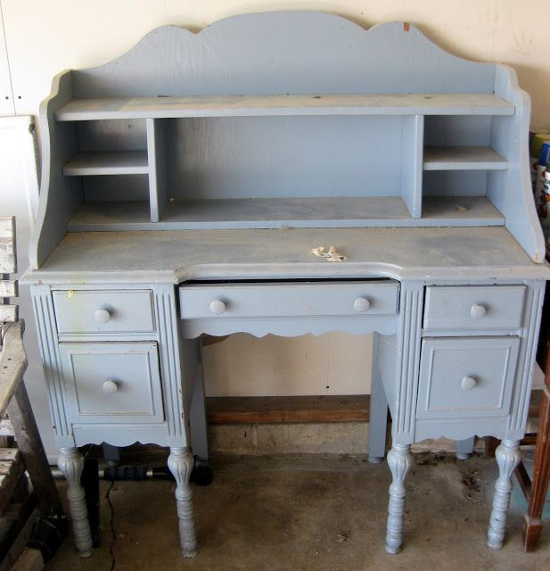 Amazing Desk Re-do Into Nightstands Featured on Furniture Flippin