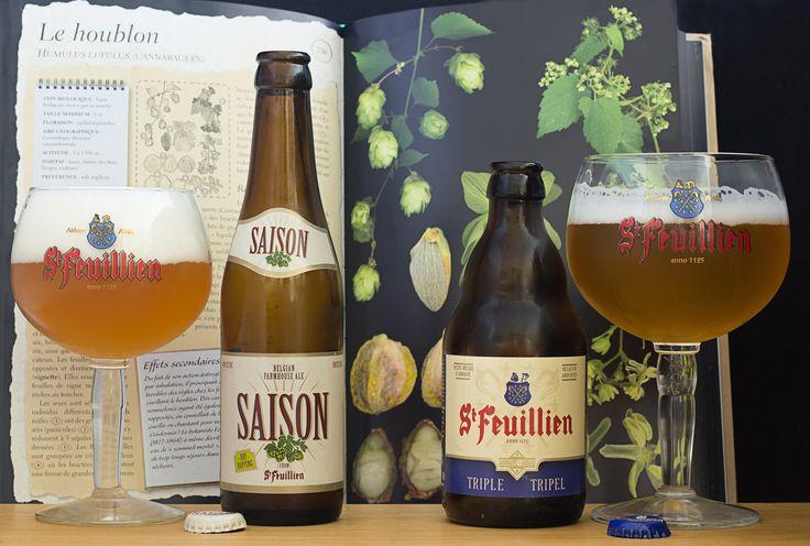 "Saison & Triple - Saison & Triple (brasserie St-Feuillien - Belgique) -  grâce à ""BelgiBeer.fr"" : https://www.belgibeer.fr/Box-Biere-Belge/refer_id=846"
