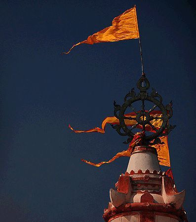 Sudarshana Chakra Atop Jagannath Puri Temple