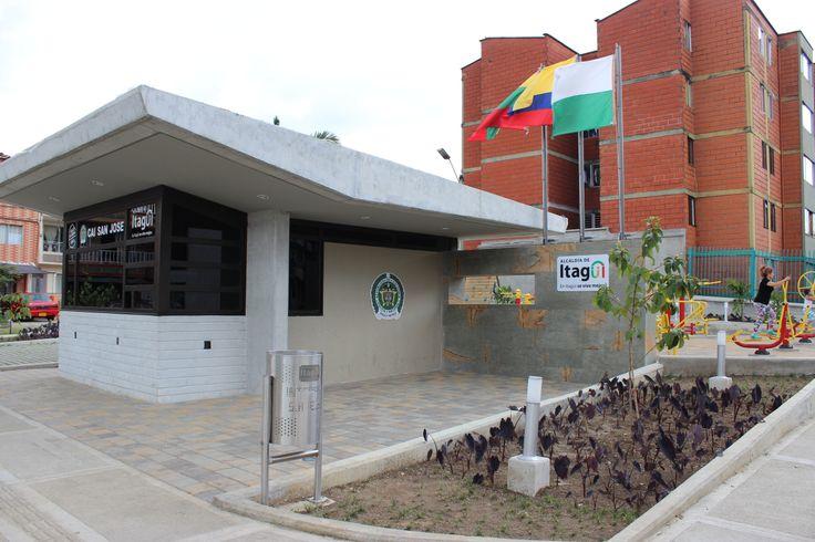 Siete nuevos CAI, que acercan la seguridad a  nuestros barrios, porque Itagüí ya cambió...