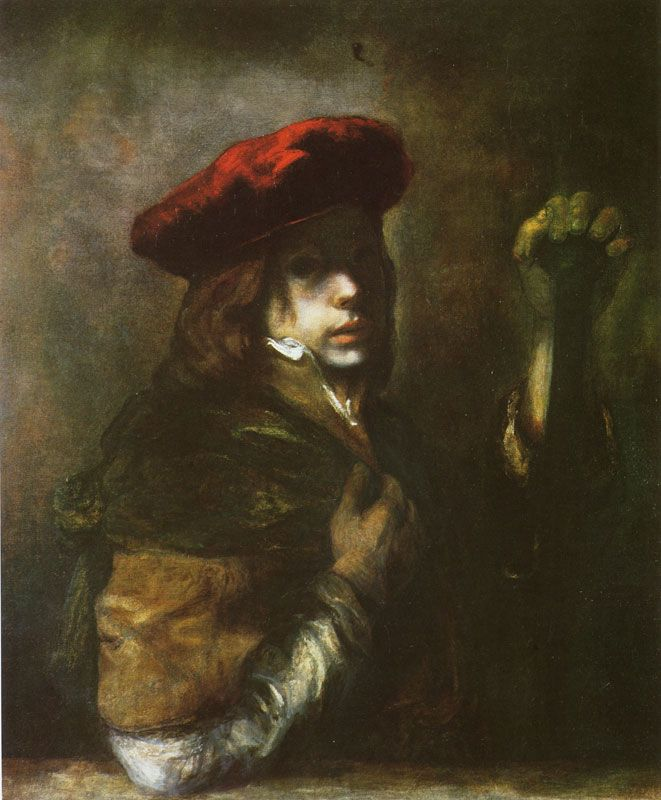 Samuel van Hoogstraten - Self portrait