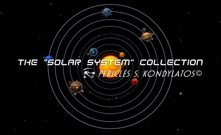 "The ""Solar System"" collection by Pericles Kondylatos"