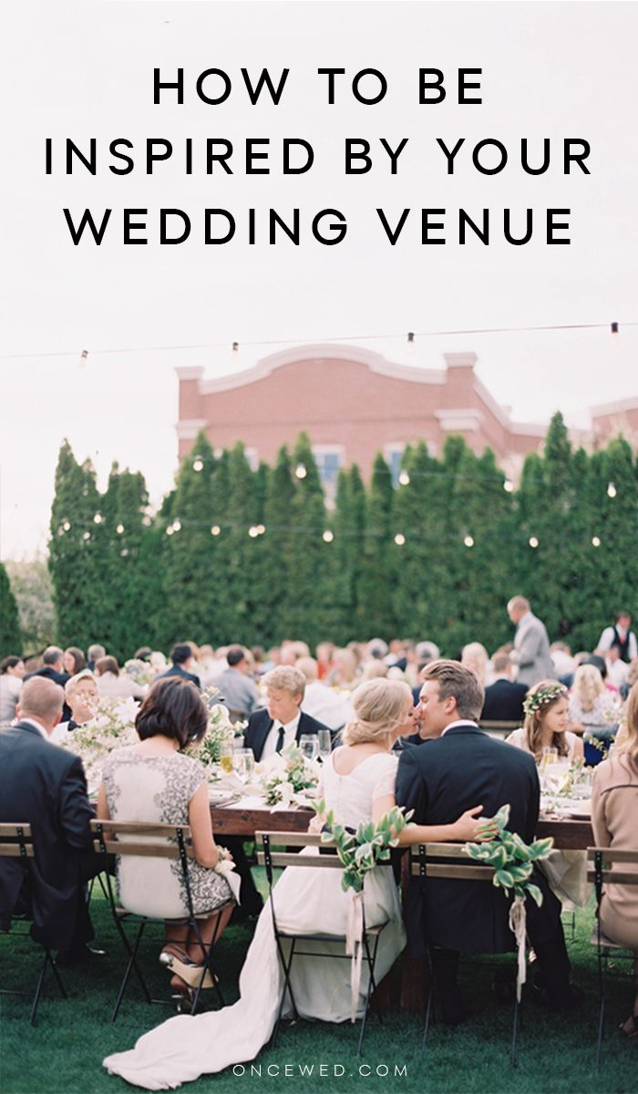 Being Inspired By Your Wedding Venue   To be, Cute ...
