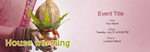 house warming ceremony invitation message - Google Search