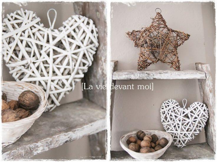 diy une toile en bois pour no l la vie devant moi d co hiver pinterest deco hiver. Black Bedroom Furniture Sets. Home Design Ideas