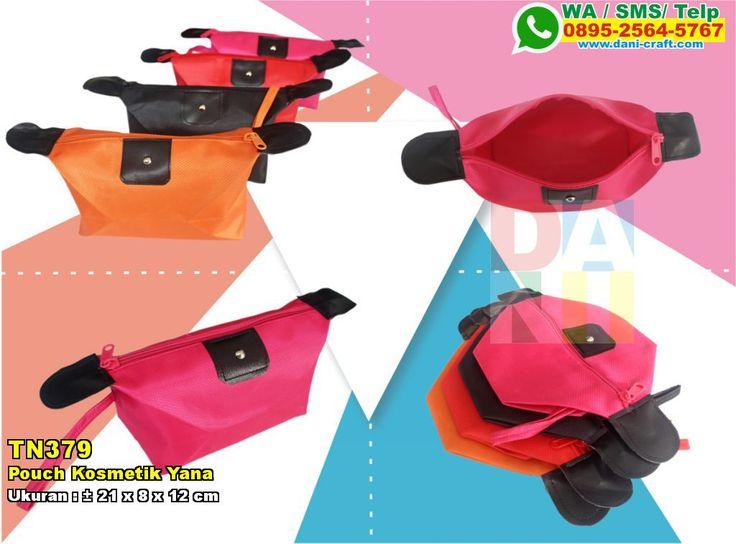 Pouch Kosmetik Yana WA/SMS/TELP: 0852-2602-1075 #PouchKosmetik #PabrikKosmetik #SouvenirPernikahanMurah