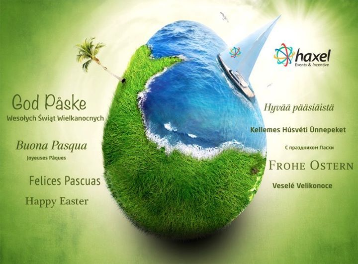 May this year's Easter bring your hope and joy. Happy Easter from HAXEL EVENTS & INCENTIVE!