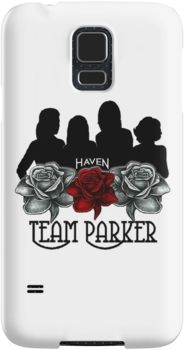 Haven Syfy Inspired Phone Cases/Skins |   Haven Team Parker Sides Of Audrey Black & White Logo   | Snap Cases,Tough Cases, & Skins for Galaxy S3-S4-S5-S6-S6 Edge-S6 Edge Plus-S7-S7Edge | iPhone 4s/4 5c/5s/5 6/6Plus SE/5s/5 & iPhone Wallets **All designs available for all models.