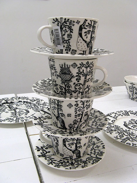 klaus haapaniemi cups and saucers. Please like http://www.facebook.com/RagDollMagazine and follow @RagDollMagBlog @priscillacita