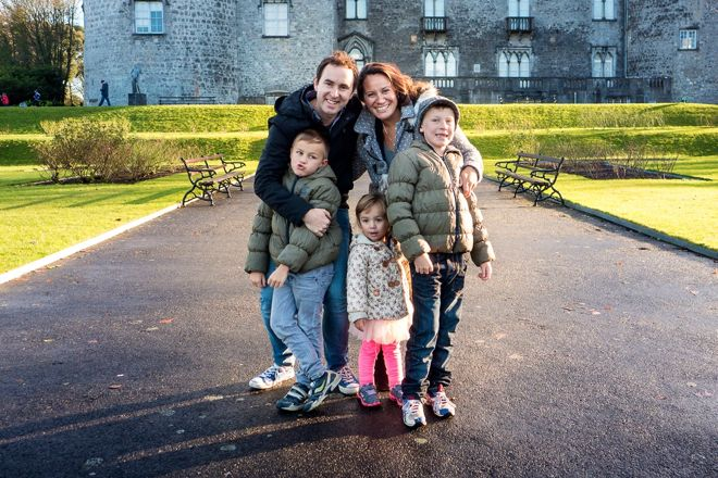 Rugged up in Ireland with Damien Leith and family. #travel #kids #AustraliaIdol #familyvacations http://www.suitcasesandstrollers.com/interviews/view/profile-damien-leith?l=s