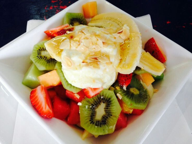 #fruitsalad #fresh #fruit #kirramisucafe