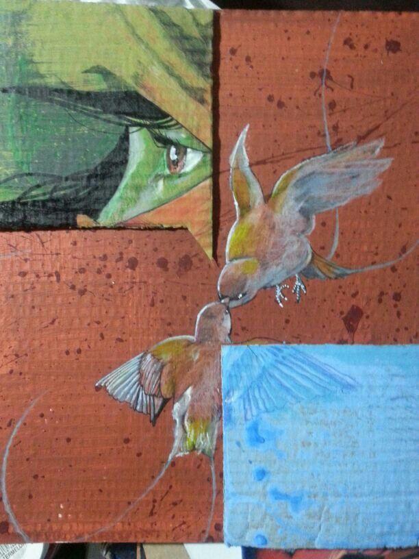 Birds, love,  art. #Preix66 follow IG: Prefix66