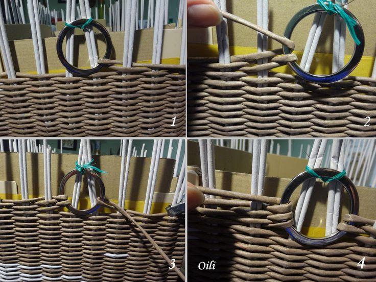 Плетение из бумажной лозы | Тарасенко Виктория | | ВКонтакте