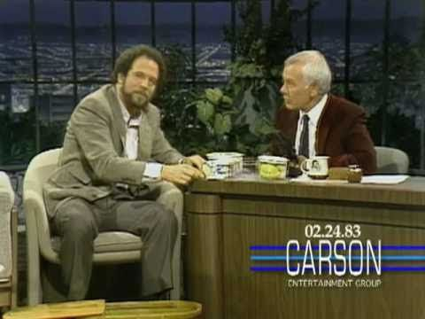 "Albert Brooks' impersonation kit on ""The Tonight Show Starring Johnny Carson"" (1983)"