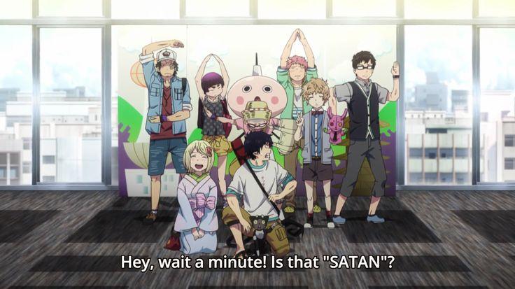 Rin Okumura | Ao no exorcist | Blue Exorcist | ♤ Anime Season 2 episode 12