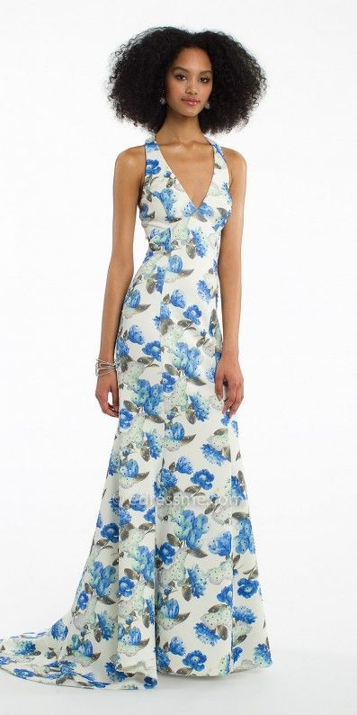 Unique and stunning you can not go wrong with the Floral Print Scuba Dress by Camille La Vie. #edressme