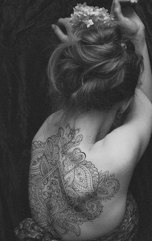 Henna Tattoo Kaufen Basel: Henna Tattoo Back, Mandala Tattoo