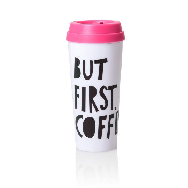 But First Coffee...Hot Stuff Thermal Travel Mug | New | Oliver Bonas