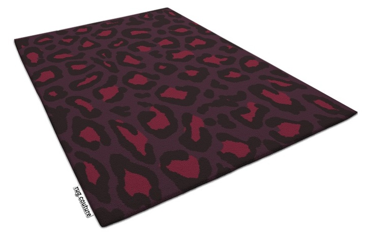leopard rug - 280408 | hand tufted luxury wool rug by the bespoke rug company