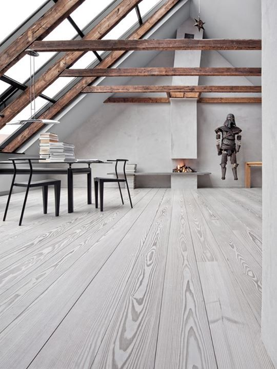 Modern Dining Room Design Flooring By Dinesen And Photography By Erik Zappon