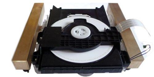 laufwerkimrahmen aus Technics-CD Laufwerk in neu chassis