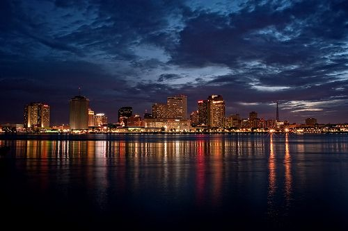 New Orleans Sunset | Louisiana the Pelican State | New ...