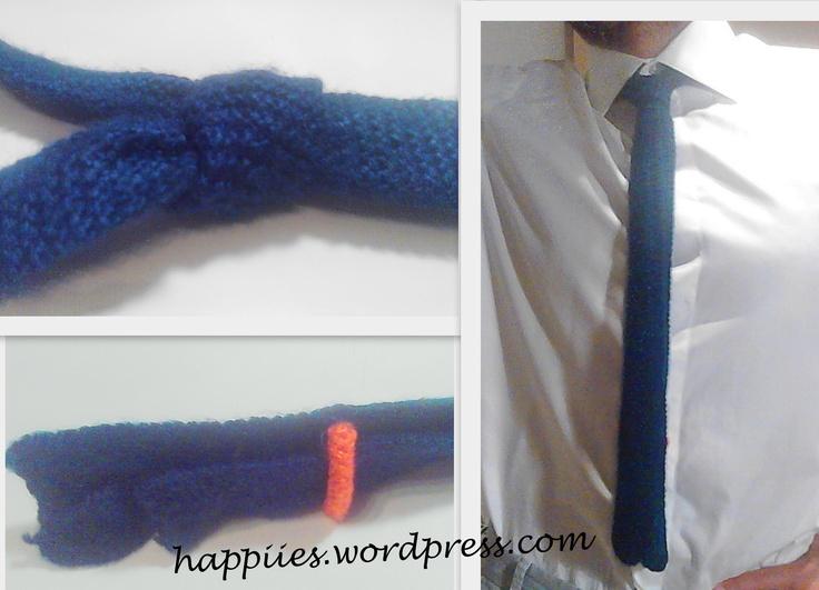 cravatta di lana anni '50