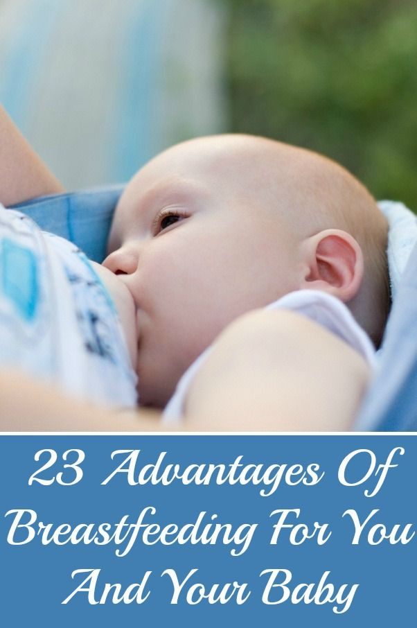 23 Advantages Of Breastfeeding For You And Your Baby: Now a days, many mothers are opting for breastfeeding due to its various benefits for their babies as well for themselves.Click to read more.
