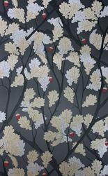Feuille de Chêne wallpaper from the Cabochon  Collection by Osborne & Little