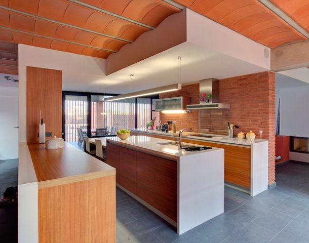18 best images about fachadas casas de ladrillo visto on pinterest traditional search and garage - Ladrillo visto interior ...