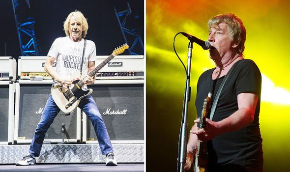 Status Quos Rick Parfitt may have performed last show after pulling out of tour