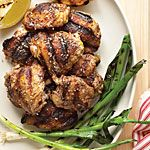 Looks yummy and easy!  Zaatar and Lemon Grilled Chicken Recipe | MyRecipes.com
