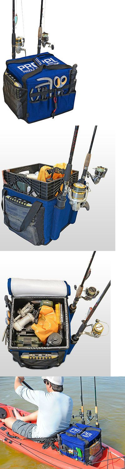 Accessories 87089: Kayak Accessories Fishing Rod Holder Tackle Bag Inflatable Boat Canoe Gear Blue -> BUY IT NOW ONLY: $89.99 on eBay!