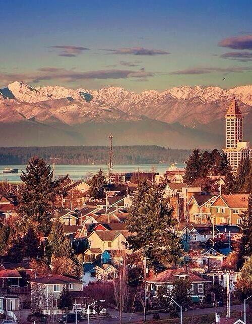 Beautiful Seattle http://www.travelandtransitions.com/destinations/destination-advice/north-america/