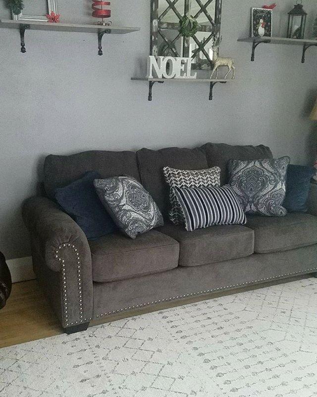 Navasota Sofa By Ashley Homestore Charcoal Products Ashley