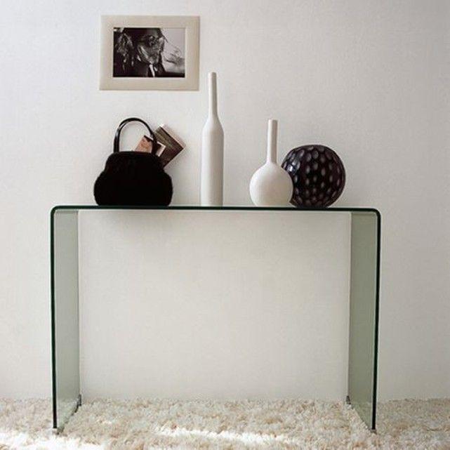 les 25 meilleures id es de la cat gorie console verre sur. Black Bedroom Furniture Sets. Home Design Ideas