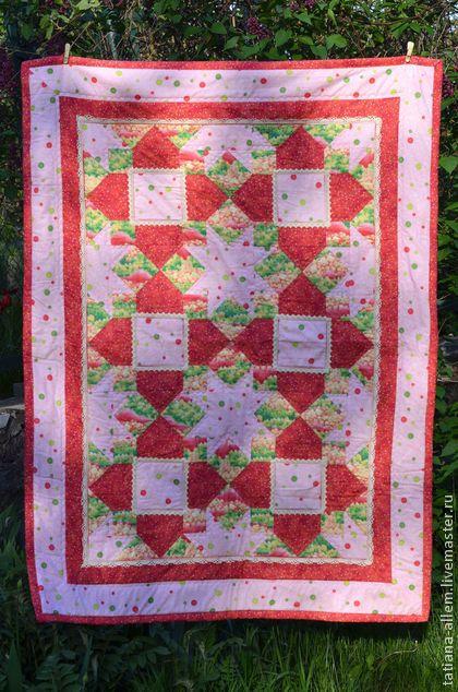 Детское одеяло для девочки. 1800 грн (150$) #quilt #forgirl #patchwork #handmade