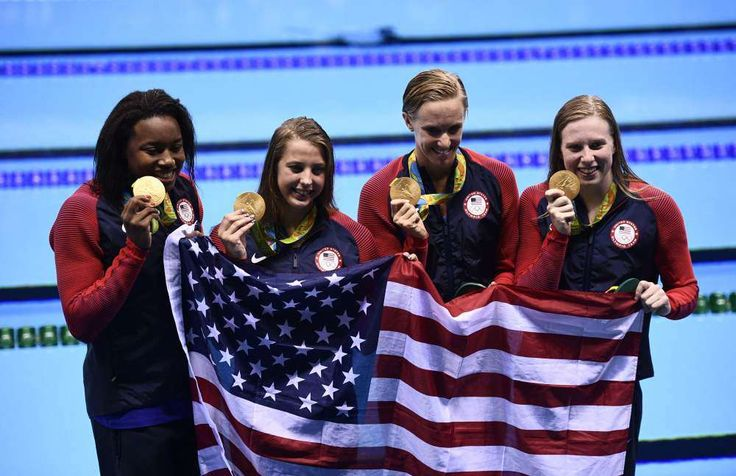 10. Lilly King:    Were you looking for a brash American star who can deliver in the pool? Lilly King has you covered.       -  Usain Bolt, Michael Phelps lead 2016 Olympic power rankings:  August 20, 2016