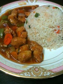 My Passion For Cooking: Chicken Manchurian With Fried Rice