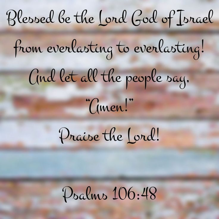 Psalms 106:48