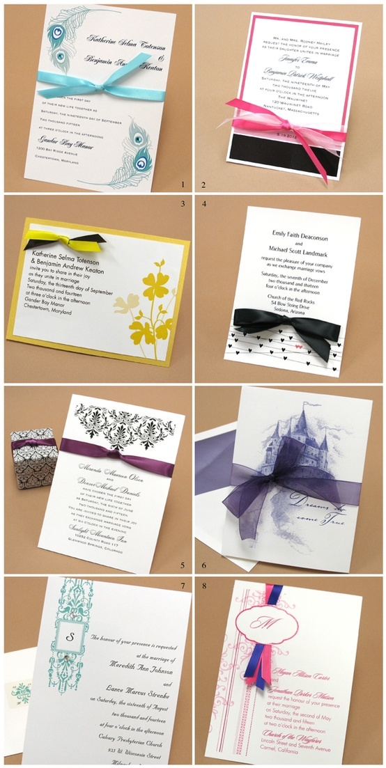 Such a fan of Wedding Invitations with