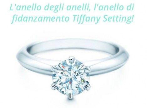 Anello di-Fidanzamento Tiffany Setting Foto e Prezzi