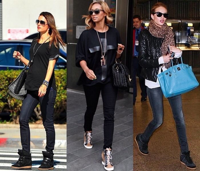 Black Sneaker Wedge Outfits Fashion Pinterest Sneaker Wedge Outfit Wedges Outfit And