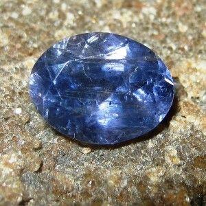 Violet Blue Oval Iolite 1.55 carat