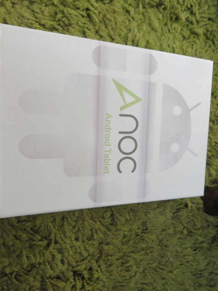 NEW BOXED ANOC ANDROID TABLET WITH ALL ACCESSORIES  Bargain AT £39.99