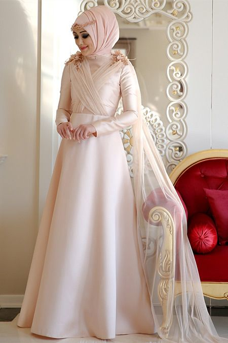 b7fe5bc4a13a5 Minel Aşk Somon Elegance Abiye Elbise | Clothes in 2019 | Elbise ...