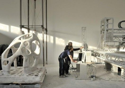 3D Printing Buildings and Materials Science
