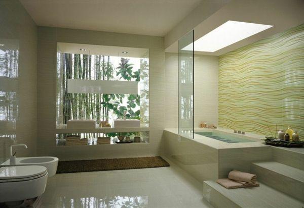 badewanne verkleiden moderne badezimmer zen atmophäre